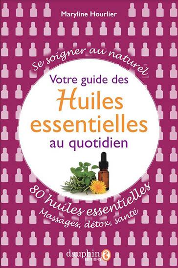 Couverture du livre guide des huiles essentielles