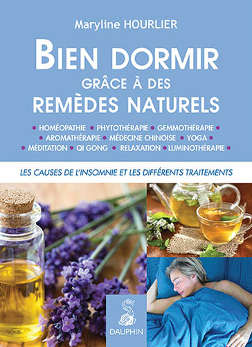 Couverture du livre bien dormir grave aux remèdes naturels